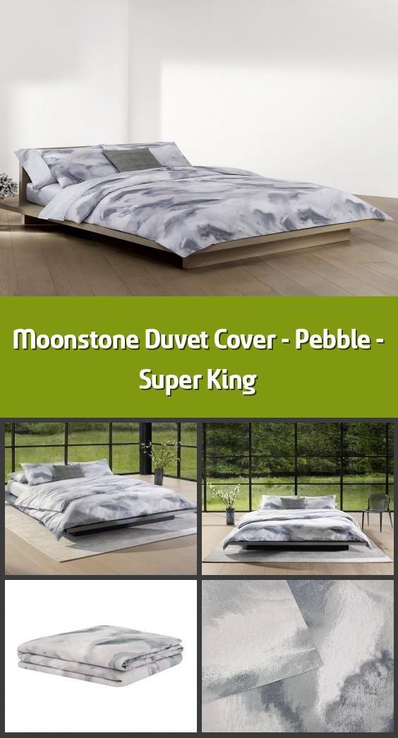 Moonstone Duvet Cover Pebble Super King Duvet Cover Material 100 Cotton Sateen Dimensions 2 In 2020 Super King Duvet Covers Duvet Covers Bedroom Duvet Cover