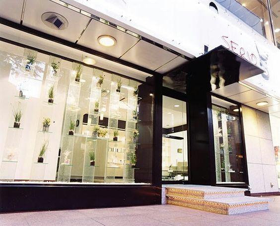 ヘアサロン。栄。店舗デザイン;名古屋 スーパーボギー http://www.bogey.co.jp