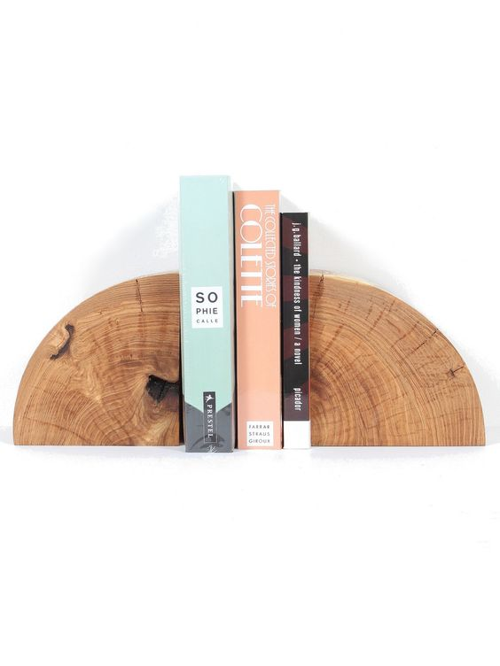 Marvin Freitas Solid Wood Bookends - Maple | PRETTY MOMMY