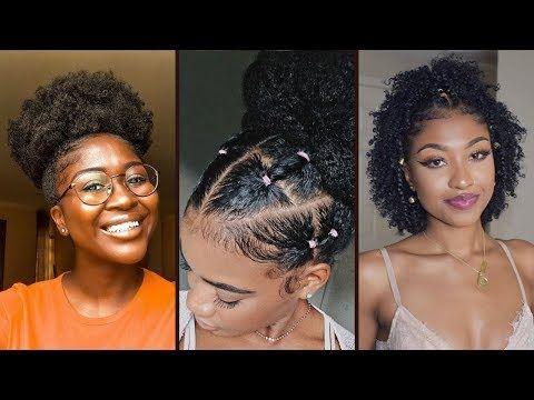 Quick Easy Natural Hairstyles For Black Women Natural Hairstyles Protect In 2020 Natural Hair Styles For Black Women Natural Hair Styles Easy Natural Hair Styles