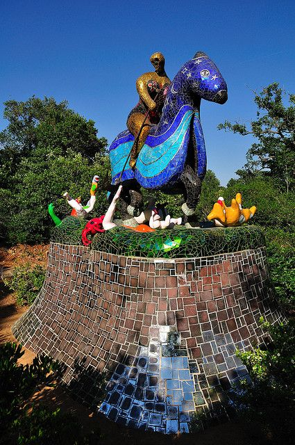 The tarot garden in tuscany italy amazing places - Niki de saint phalle tarot garden ...