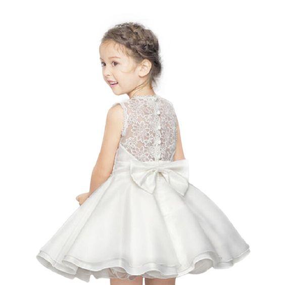 haute qualit dentelle fille robes enfants robe summer party princesse b b fille robe de. Black Bedroom Furniture Sets. Home Design Ideas
