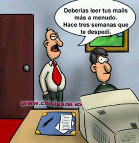 Humor de oficina humor pinterest humor for Chistes de oficina