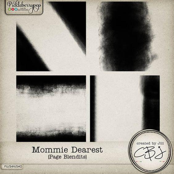 Mommie Dearest - Page Blendits by Created by Jill Designs
