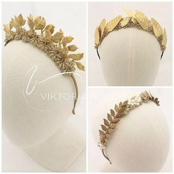 Victoria novak gold crown