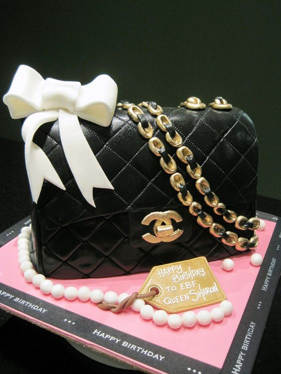 Images Of Pocketbook Cakes Purse Cake Pictures And Ideas Purse - Purse birthday cake ideas