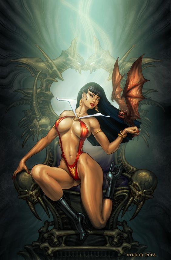 Vampirella by TudorPopa