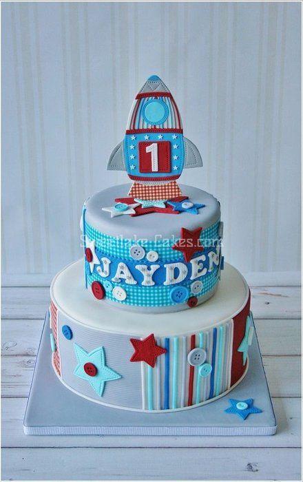 Boy Birthday Cake.