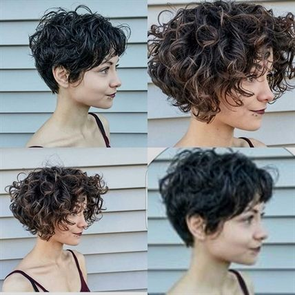 38+ Short curly hairstyles for women inspirations