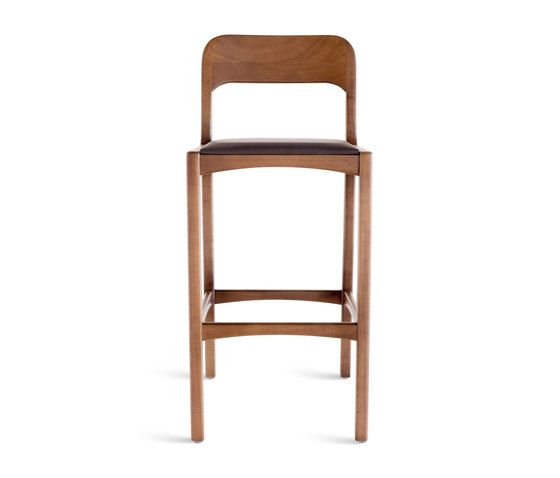 Red Timeless Reflections Counter Stool