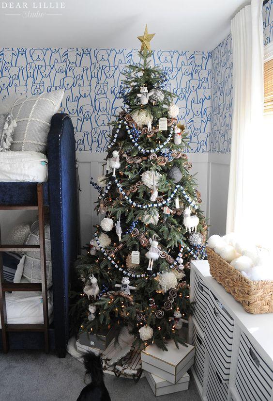 Pin On Christmas Holiday Home Tours Lillie and lola christmas rooms