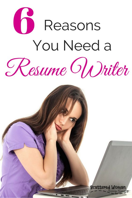 6 times you need a resume writer - career advice - Scattered Woman - resume writer
