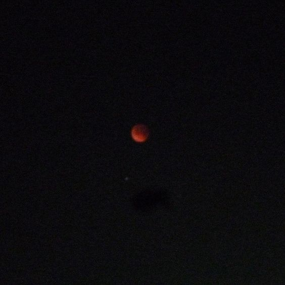 Red Moon #EclipseLunar