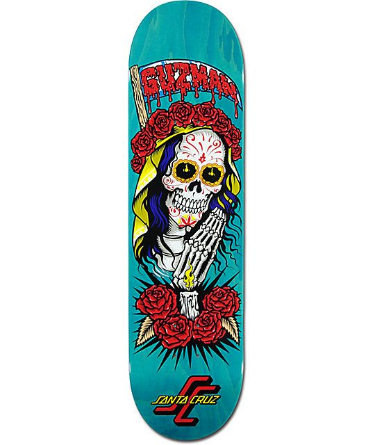 Tabla Santa Cruz Calavera Tablas De Skate Patinaje Con Monopatin Dibujo De Calavera