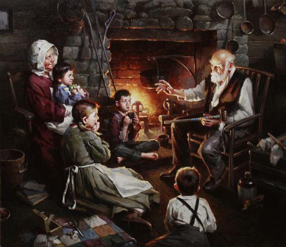 """""""Stories near the fire"""" by SamRoss 3301.84 €"""