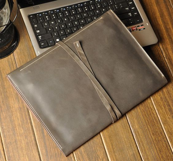 Macbook Cover Macbook Case leather 13 Macbook Pro by XLeather