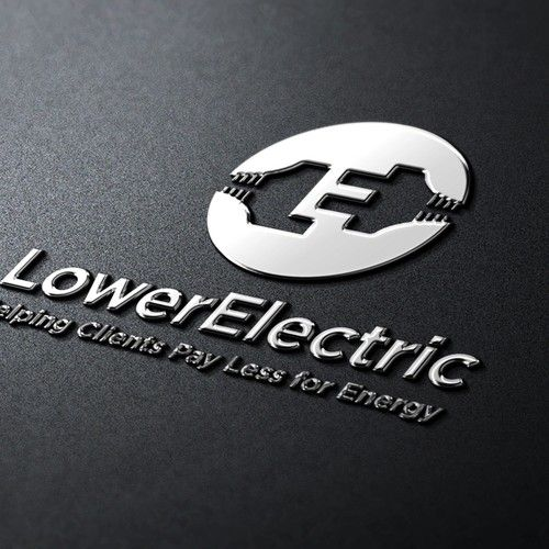 Lower Electric How Do You Communicate The Value Of Having An Energy Broker Through A Unique Simple Business Cards Personal Business Cards Free Business Cards