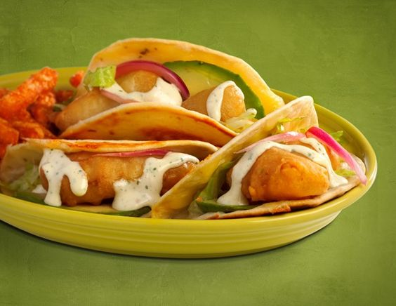 Beer Battered Fish Street Tacos. Used frozen battered fish & corn tortillas. Omitted jalapeño. Not my favorite but everyone else liked.