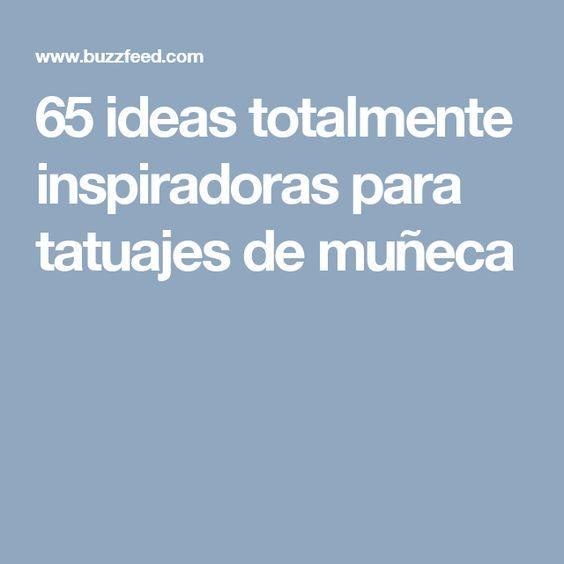 65 ideas totalmente inspiradoras para tatuajes de muñeca
