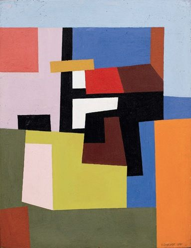 Adolph Frederick Reinhardt was an Abstract painter active in New York beginning in the 1930s and continuing through the 1960s.  He was renowned for his work as an abstract painter and for his influence on Minimalism.