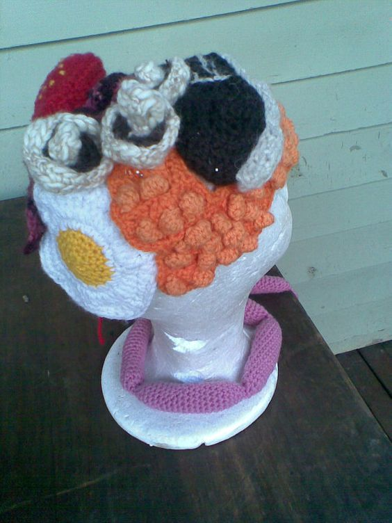 Crocheting Nicknames : Custom Crochet Hats Sow The Seeds Of Silliness! Got a silly nickname ...