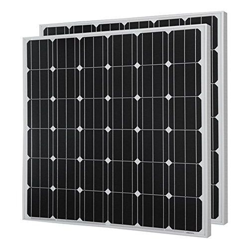 Hqst 150 Watt 12 Volt Monocrystalline Solar Panel 2 Pieces Flexible Solar Panels Best Solar Panels Monocrystalline Solar Panels