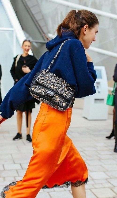 Image result for new york fashion week 2016 blue orange