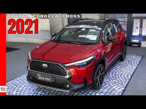 New Toyota Corolla Cross 2021 Youtube Toyota Corolla New Corolla Corolla