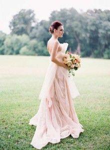 robe rose mariage