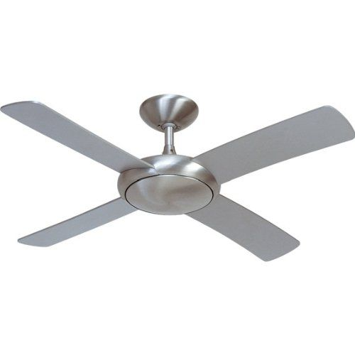 Fantasia Orion Ceiling Fan 44in Brushed Alu With Remote Ceiling