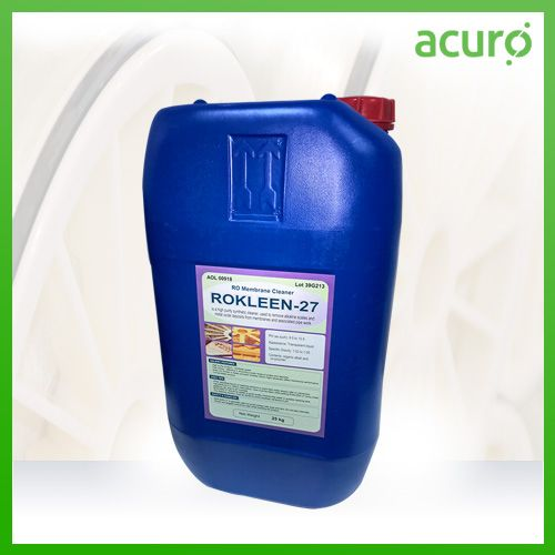 Rokleen 27 High Ph Membrane Cleaner Is An Alkaline Liquid Product For Cleaning Of Contaminants Like Oils Organic Compounds Si Ro Membrane Membrane Organic Oil
