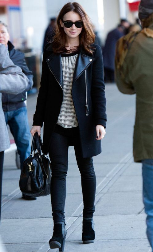 That coat!! I just love her style so much!