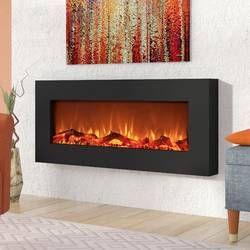 Lauderhill Wall Mounted Electric Fireplace Dizajn Kamina Kamin
