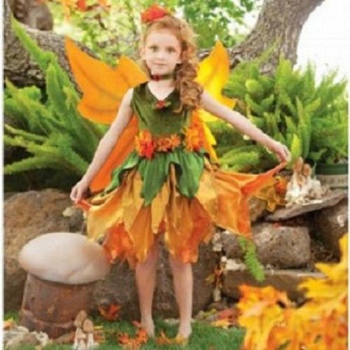 Disfraz casero para Halloween: Hada del otoño