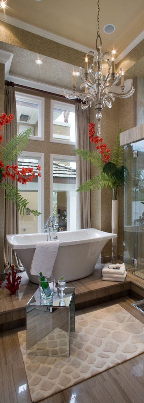 Silver sunrise florencia gonzalez residence orlando for Bathroom decor orlando