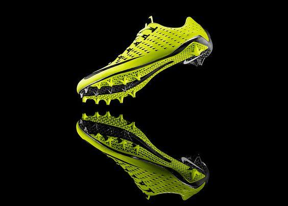 1 | Nike Vapor Laser Talon: Football's First 3-D Printed Shoes | Co.Design: business + innovation + design
