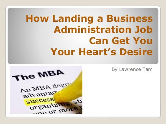 Best  Business Administration Jobs Ideas On