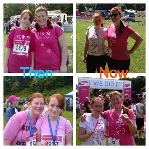 Race4life then and now
