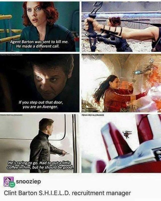 Oh, Clint.