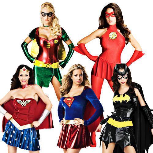 Wondrous Woman Halloween Costume Comic Book  Super Hero Outfit