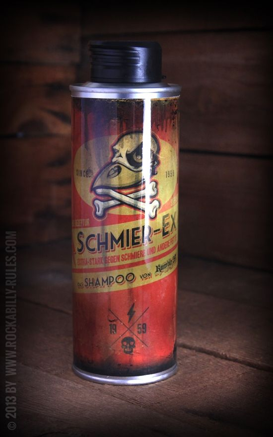 Rumble59 - Schmier Ex Shampoo - 250ml - fettlösend - Rockabilly-Rules.com
