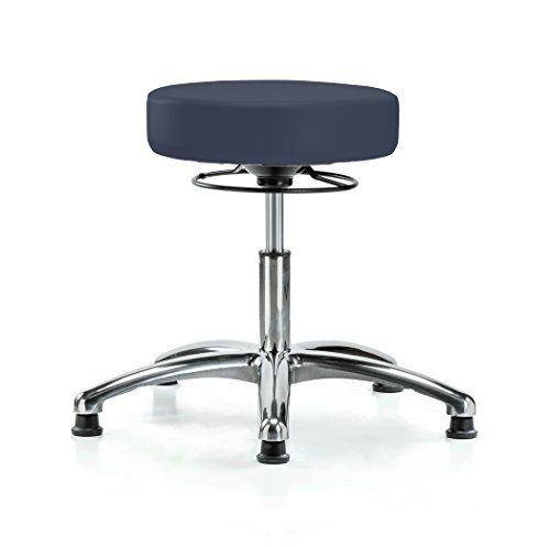 Perch Chrome 360 Degree Height Adjustable Swivel Stool Stationary Without Wheels For Massage Medical Office Sh Adjustable Chairs Swivel Stool Height Adjustable