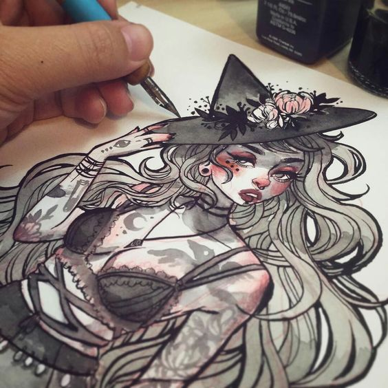 Art by jacqueline deleon concept design pinterest for Higgins ink tattoo