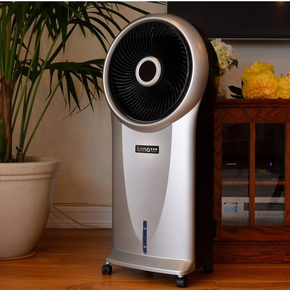2 In 1 250 Cfm Portable Indoor Outdoor Compatible Evaporative Cooler With Images Evaporative Cooler Portable Air Conditioner Camping Air Conditioner