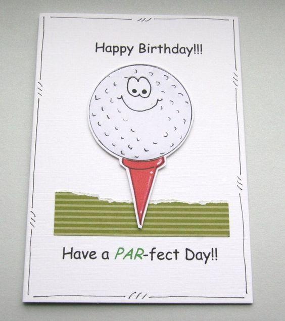 Have a PAR-fect Day - Golf Birthday Card by Crafty Mushroom