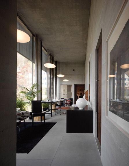 Peter Zumthor Studio Workplaces Pinterest