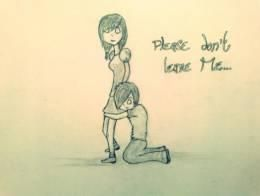 Please don't leave Me #Creative #Art #Sketching @touchtalent.com