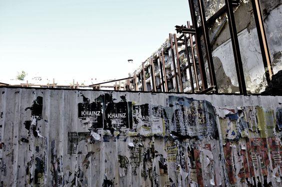 Backstage Shooting No Publik UNDERWEAR Lisbonne Abandoned Wall