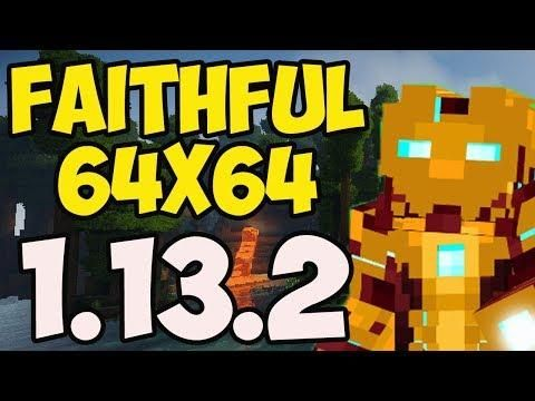 Faithful 64x64 Resource Pack 1 13 2 How To Download Install Texture Packs In Minecraft 1 13 2 Texture Packs Texture Minecraft 1