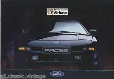 FORD - Probe prospekt/brochure/folder Dutch 1995   eBay